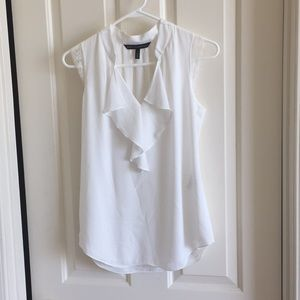 WHBM White Blouse